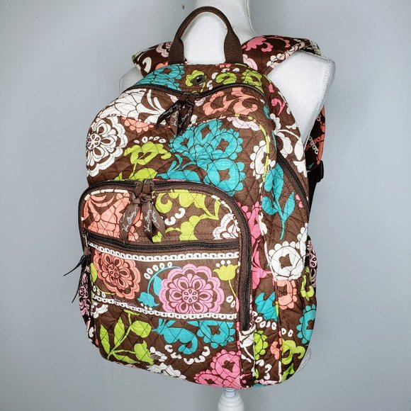 Vera Bradley Wild Flower Shoulder Strap Back Pack
